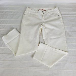 ELLE WHITE STRAIGHT LEG PANTS